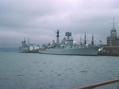Portsmouth: HMS Bristol