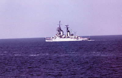 Sverdolovsk Class Cruiser in the Baltic 1971.