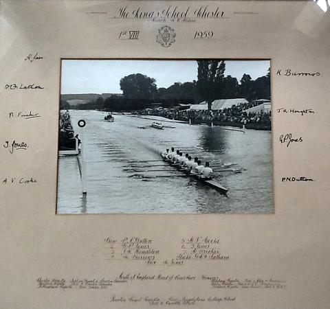 1st VIII at Henley 1959
