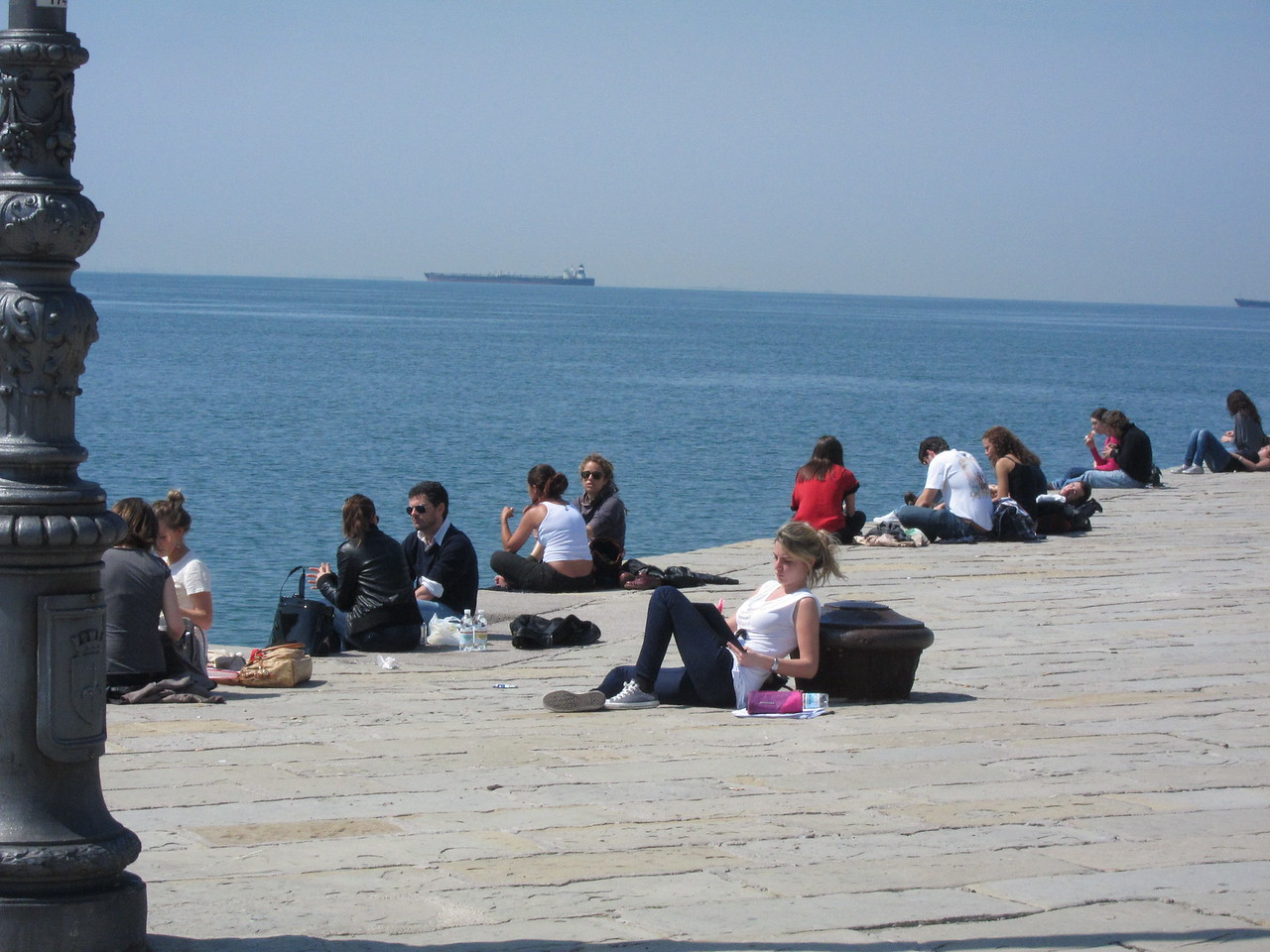 Lunchtime in Trieste